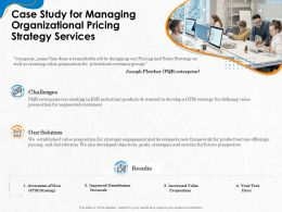 Case Study For Managing Organizational Pricing Strategy Services Ppt Templates