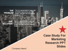 Case Study For Marketing Research Ppt Slides