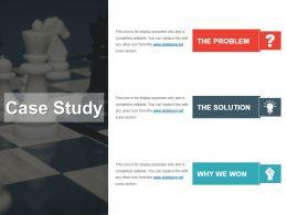 Case Study For Marketing Segmentation Ppt Slide Design