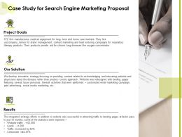 Case Study For Search Engine Marketing Proposal Ppt Powerpoint Presentation Graphics