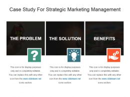 Business Finance Marketing case study PowerPoint template