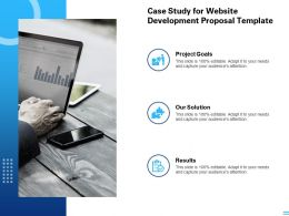 Case Study For Website Development Proposal Template Ppt Powerpoint Presentation Summary