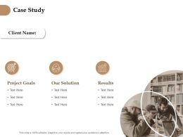 Case Study Goals Ppt Powerpoint Presentation Pictures Templates
