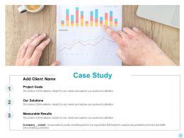 Case Study Measurable Ppt Powerpoint Presentation Portfolio Outline