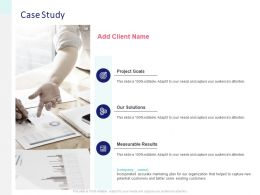 Case Study Measurable Ppt Powerpoint Presentation Show Professional
