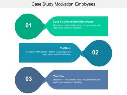 Case Study Motivation Employees Ppt Powerpoint Presentation Slides Layout Cpb