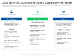 Case Study Of Downstream Oil And Gas Global Energy Outlook Challenges Recommendations
