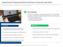 Case Study Of Using Analytical Solution Global Energy Outlook Challenges Recommendations
