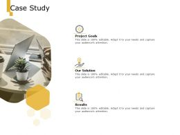 Case Study Our Solution Results Ppt Powerpoint Presentation Inspiration Templates