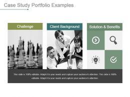 Case Study Portfolio Examples Powerpoint Presentation Templates