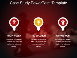 Case Study Powerpoint Template Sample Ppt Files