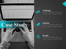 Case Study Ppt Design Ideas