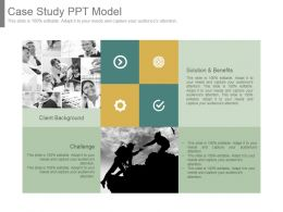 Case Study Ppt Model