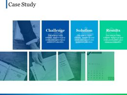Case Study Ppt Pictures Layout