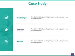 Case Study Ppt Slides