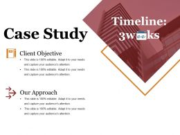 Case Study Ppt Summary Example
