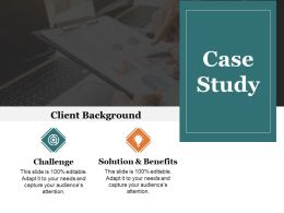 Case Study Presentation Powerpoint Templates