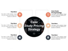 Case Study Pricing Strategy Ppt Powerpoint Presentation Pictures Format Cpb