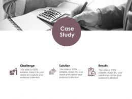 Case Study Solution Challenge Ppt Powerpoint Presentation File Mockup