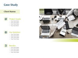 Case Study Solution Ppt Powerpoint Presentation Model Outfit