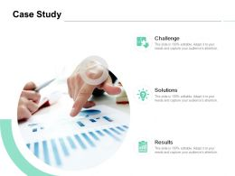 Case Study Solutions Challenge Ppt Powerpoint Presentation Icon Pictures