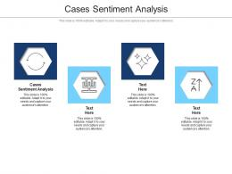 Cases Sentiment Analysis Ppt Powerpoint Presentation Inspiration Pictures Cpb