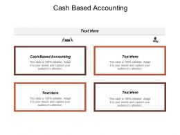 Cash Based Accounting Ppt Powerpoint Presentation Model Gallery Cpb