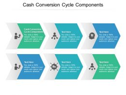 Cash Conversion Cycle Components Ppt Powerpoint Presentation File Ideas Cpb