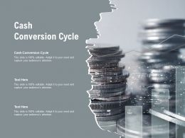 Cash Conversion Cycle Ppt Powerpoint Presentation Infographics Cpb