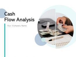 Cash Flow Analysis Circular Arrow Statement Graphical Presentation Horizontal