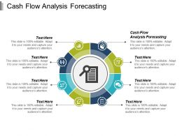 Cash Flow Analysis Forecasting Ppt Powerpoint Presentation Infographic Template Infographic Template Cpb