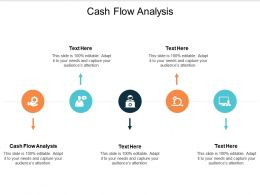 Cash Flow Analysis Ppt Powerpoint Presentation File Images Cpb