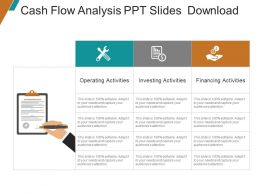 Cash Flow Analysis Ppt Slides Download