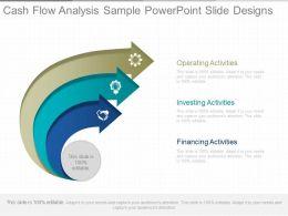 Cash Flow Analysis Sample Powerpoint Slide Designs