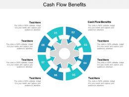 Cash Flow Benefits Ppt Powerpoint Presentation File Visual Aids Cpb