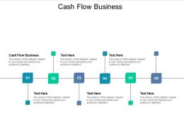 Cash Flow Business Ppt Powerpoint Presentation Icon Graphics Download Cpb