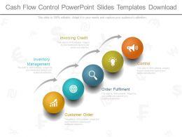 Cash Flow Control Powerpoint Slides Templates Download