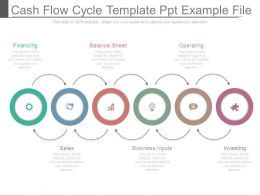 Cash Flow Cycle Template Ppt Example File