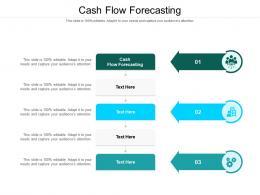 Cash Flow Forecasting Ppt Powerpoint Presentation Model Format Ideas Cpb