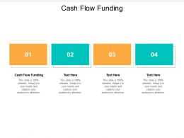 Cash Flow Funding Ppt Powerpoint Presentation Portfolio Pictures