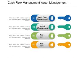 Cash Flow Management Asset Management Customer Relationship Management