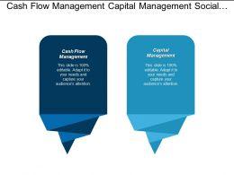 Cash Flow Management Capital Management Social Media Marketing Cpb