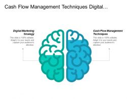 Cash Flow Management Techniques Digital Marketing Strategy Negotiation Skills Cpb