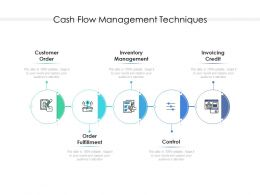 Cash Flow Management Techniques
