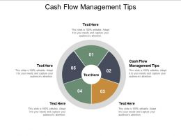 Cash Flow Management Tips Ppt Powerpoint Presentation Gallery Inspiration Cpb