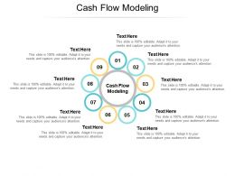 Cash Flow Modeling Ppt Powerpoint Presentation Model Deck Cpb