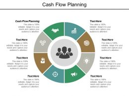 Cash Flow Planning Ppt Powerpoint Presentation Inspiration Vector Cpb