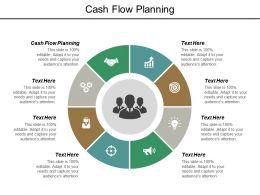 Cash Flow Planning Ppt Powerpoint Presentation Inspiration Vector Cpb