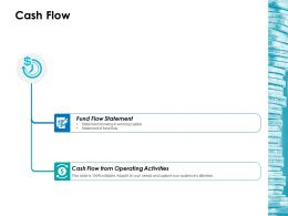 Cash Flow Ppt Icon Ideas