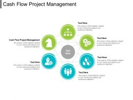 Cash Flow Project Management Ppt Powerpoint Presentation Portfolio Show Cpb